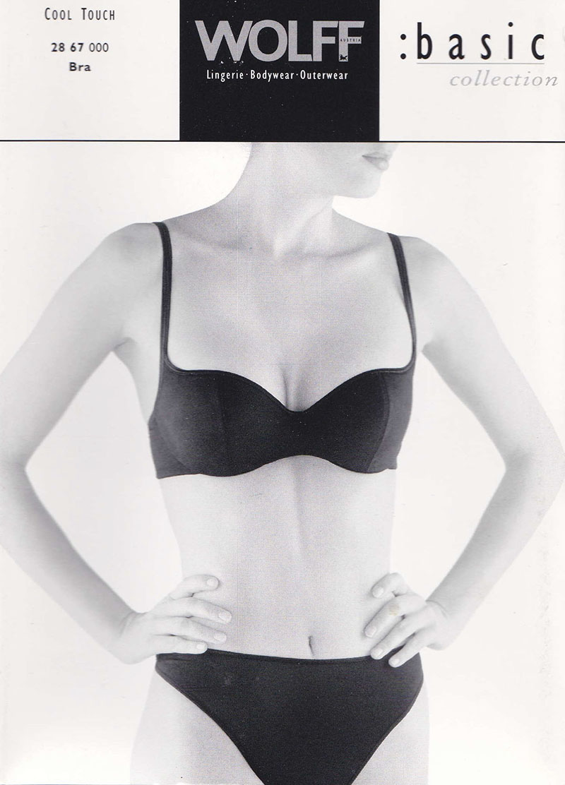 WOLFF Cool Touch Bra black